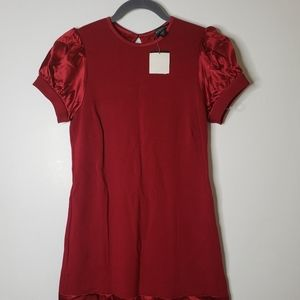 Bebe Dress Sleek Red NWT